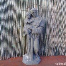 Arte: BONITO SAN ANTONIO TALLADO EN PIEDRA O SIMILAR. Lote 190416777