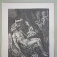 Arte: GRABADO CRISTO DESCENDIDO. Lote 190594310