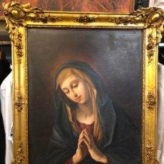 Arte: ELEGANTE DOLOROSA ITALIANA CON MARCO BARROCO. Lote 190730448