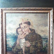 Arte: OLEO SOBRE TELA SAN JOSÉ. Lote 190730735