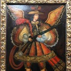 Arte: MAGNFICO ANGEL ARCABUCERO CUZQUEÑO. Lote 190730790