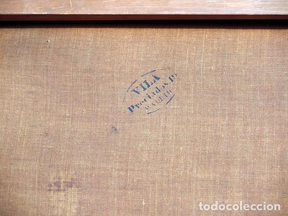Arte: IMPORTANTE OBRA RELIGIOSA - EMILIA CARMENA DE PROTA - AÑO 1858 - ÓLEO SOBRE LIENZO - ASCENSIÓN S.XIX - Foto 43 - 190824018