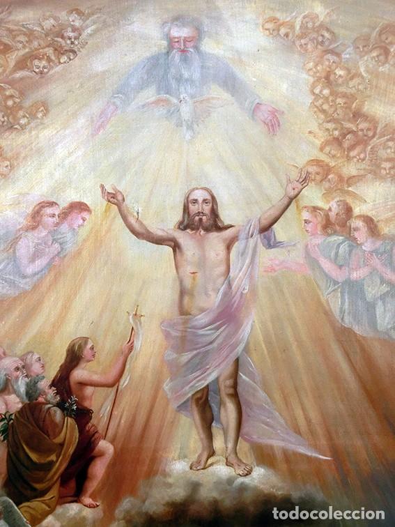IMPORTANTE OBRA RELIGIOSA - EMILIA CARMENA DE PROTA - AÑO 1858 - ÓLEO SOBRE LIENZO - ASCENSIÓN S.XIX (Arte - Arte Religioso - Pintura Religiosa - Oleo)