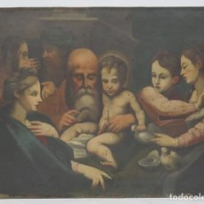 Arte: BONITA COPIA DE LA CIRCUNCISION DE JESUS DE PARMIGIANINO. OLEO S/ COBRE. SIGLO XVIII. Lote 190873571