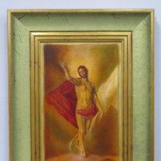 Arte: BONITA RESURRECCION DE CRISTO. SIGUIENDO MODELOS DEL GRECO. Lote 190873936