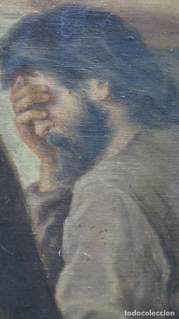 Arte: MAGNIFICA ULTIMA CENA. OLEO S/ LIENZO. J. FLORES. 1921. ESCUELA ESPAÑOLA - Foto 17 - 190878212