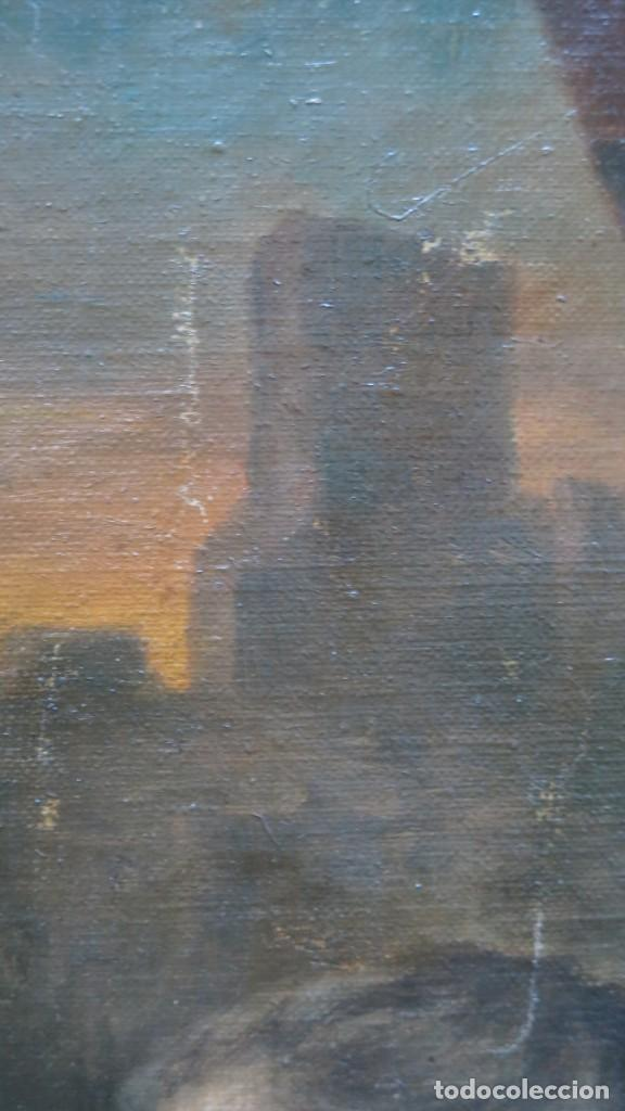 Arte: MAGNIFICA ULTIMA CENA. OLEO S/ LIENZO. J. FLORES. 1921. ESCUELA ESPAÑOLA - Foto 25 - 190878212