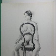 Art: GENARO LAHUERTA VALENCIA 1905 1985 LITOGRAFIA . Lote 190904010