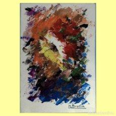 Arte: MIQUEL BROSSA. TÉCNICA MIXTA 1976. Lote 191302357