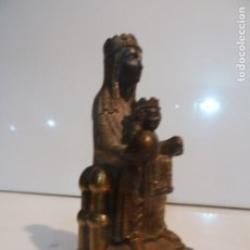 Arte: FIGURA VIRGEN DE MONTSERRAT, MORENETA. Lote 191316990