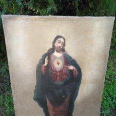 Arte: CUADRO AL ÓLEO DE JESUSCRISTO. Lote 191445601