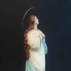 Arte: FIGURA VIRGEN INMACULADA CON 3 ANGELITOS. Lote 191651727