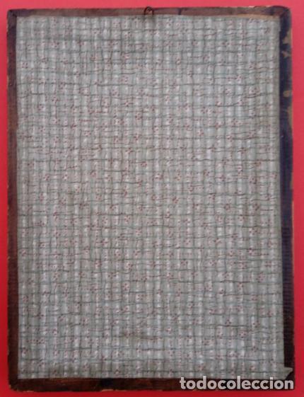 Arte: ACUARELA SOBRE PAPEL RECORTADO, SIGLO XIX. CON IMAGENES -LE CHEMIN DE LA CROIX-. DIM.- 19.5X14.5 CMS - Foto 15 - 191744027