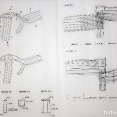 Arte: CHILLIDA- BOCETO ESCULTURA. Lote 191862885