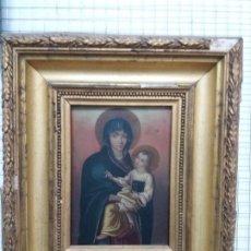 Arte: PINTURA SOBRE PLANCHA DE COBRE. Lote 191983683