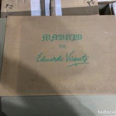 Arte: EDUARDO VICENTE. (1908- 1968)CARPETA CON 10 LÁMINAS DE ACUARELAS. Lote 191996953
