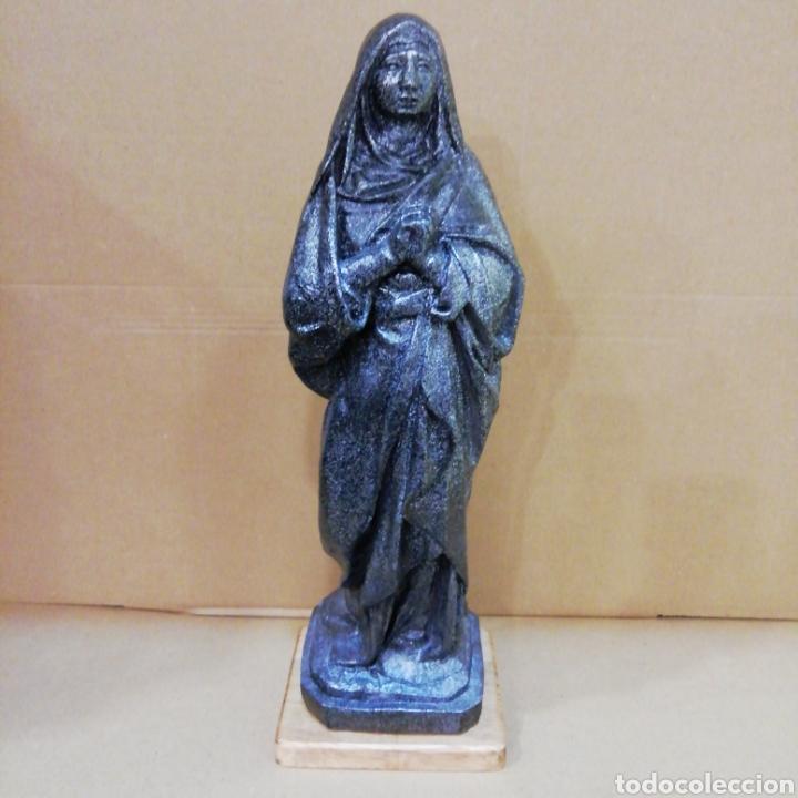VIRGEN DOLOROSA DE 42 CM. FIGURA DECORATIVA (Arte - Arte Religioso - Escultura)