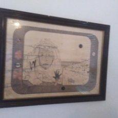 Arte: ANTIGUO DIBUJO A PLUMILLA FIRMADO . Lote 192152687