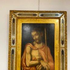 Arte: ECCE HOMO CIRCULO DE LUIS DE MORALES S. XVI FINALES. Lote 192264786