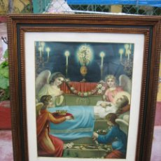 Arte: ANTIGUA LAMINA RELIGIOSA. Lote 192283316