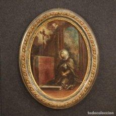 Arte: ANTIGUA PINTURA RELIGIOSA ITALIANA DEL SIGLO XVIII. Lote 192311941