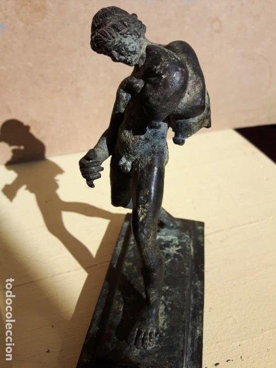 Arte: BRONCE FIGURA ANTIGUA PERSONAJE - Foto 9 - 192720082