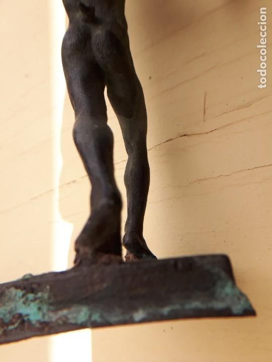 Arte: ESCULTURA TALLA BRONCE ANTIGUA - Foto 8 - 192720862