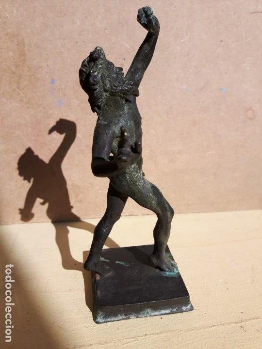 ESCULTURA TALLA BRONCE ANTIGUA (Arte - Arte Religioso - Escultura)
