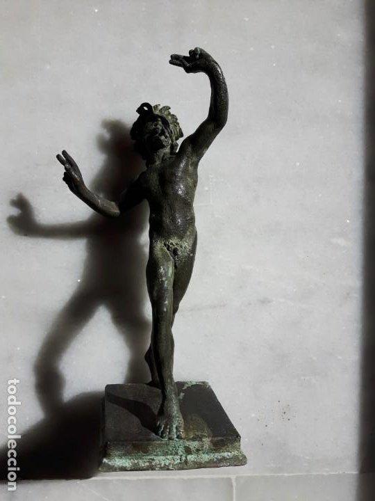 Arte: ESCULTURA TALLA BRONCE ANTIGUA - Foto 2 - 192720862