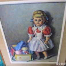 Arte: OLEO DE JOSE MARIA COLLADO SANCHEZ PINTOR EXTREMEÑO BADAJOZ NACIDO EN LA GARROVILLA. Lote 192745711