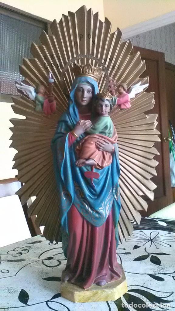 VIRGEN NEGRA (MORENA) RARA (Arte - Arte Religioso - Escultura)