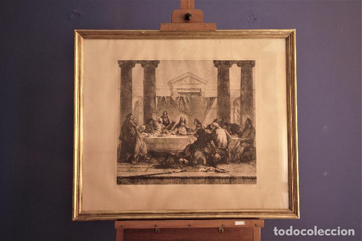 Arte: La última cena _ G.B. Tiepolo _ D.Mordant - Foto 2 - 193249052