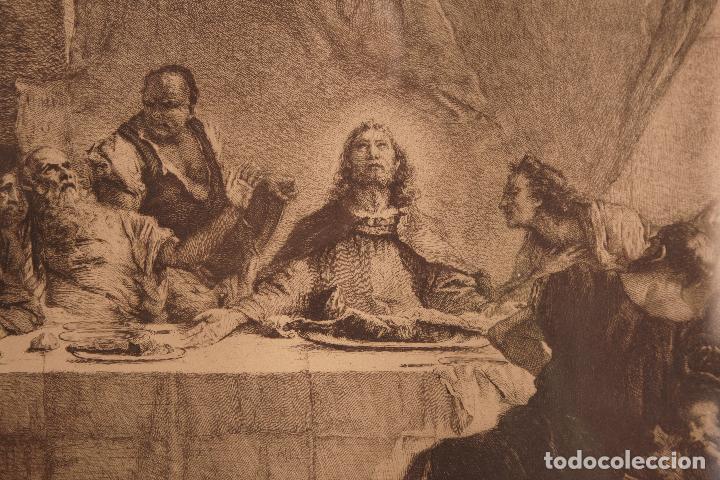 LA ÚLTIMA CENA _ G.B. TIEPOLO _ D.MORDANT (Arte - Arte Religioso - Grabados)