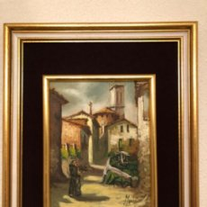 Arte: CUADRO ÓLEO POSIBLE RAFAEL MURILLO CARRERAS. Lote 193274458