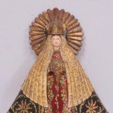 Arte: NUESTRA SEÑORA DE LA SOLEDAD. MADERA TALLADA Y POLICROMADA. PRIMERA MITAD SIGLO XX. Lote 193278526