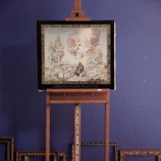 Arte: CATALINA Y FELICIANA MOREU I REYNALS DEDICAN A SU SEÑOR PADRE. Lote 193351875