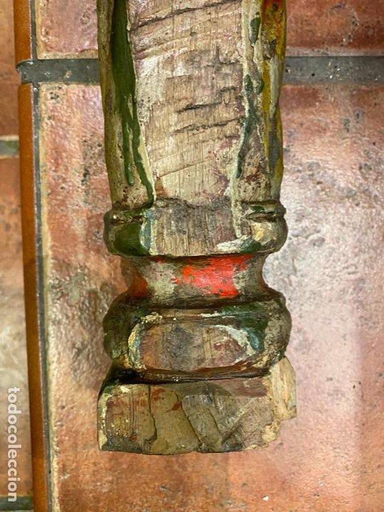 Arte: PAREJA DE COLUMNAS MUY ANTIGUAS - Foto 6 - 193409008