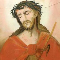 Arte: (MV) CRISTAL PINTADO RELIGIOSO S.XVIII / XIX, VER FOTOGRAFIAS. Lote 193702440