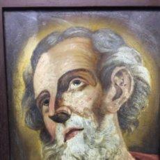 Arte: (MT) CRISTAL PINTADO RELIGIOSO S.XVIII/ XIX FIRMADO SNCIRO. Lote 193703058