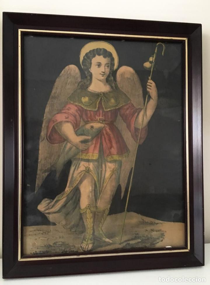CUADRO RELIGIOSO ANTIGUO (Arte - Arte Religioso - Iconos)