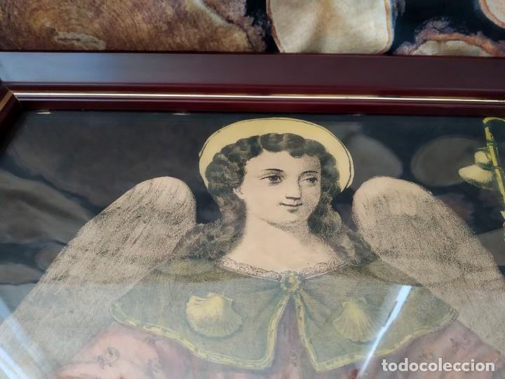 Arte: Cuadro religioso antiguo - Foto 2 - 193844530