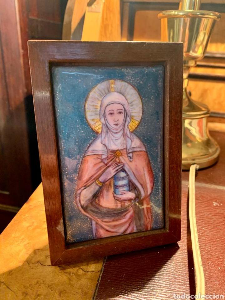 ESMALTE VIRGEN (Arte - Arte Religioso - Pintura Religiosa - Otros)