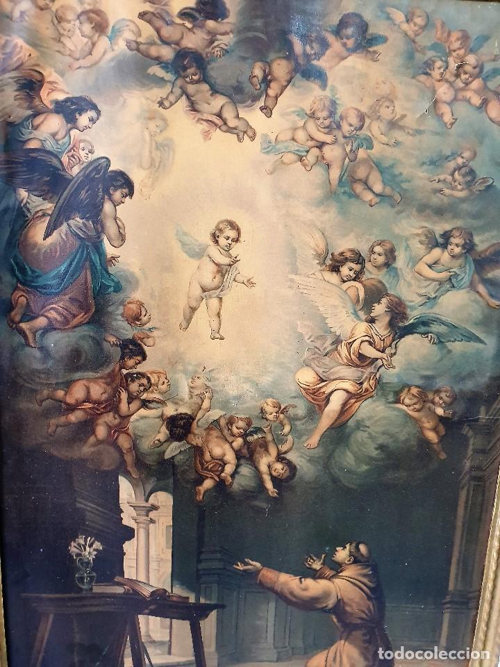 Arte: ANTIGUO CUADRO RELIGIOSO - Foto 2 - 193981567