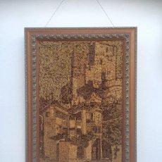Arte: CUADRO DE TORRE BERMEJA ( ALHAMBRA ). Lote 194007766