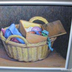 Arte: OLEOS DE JOSE MARIA COLLADO PINTOR EXPREMEÑO DE LA GARROVILLA BADAJOZ. Lote 194100091