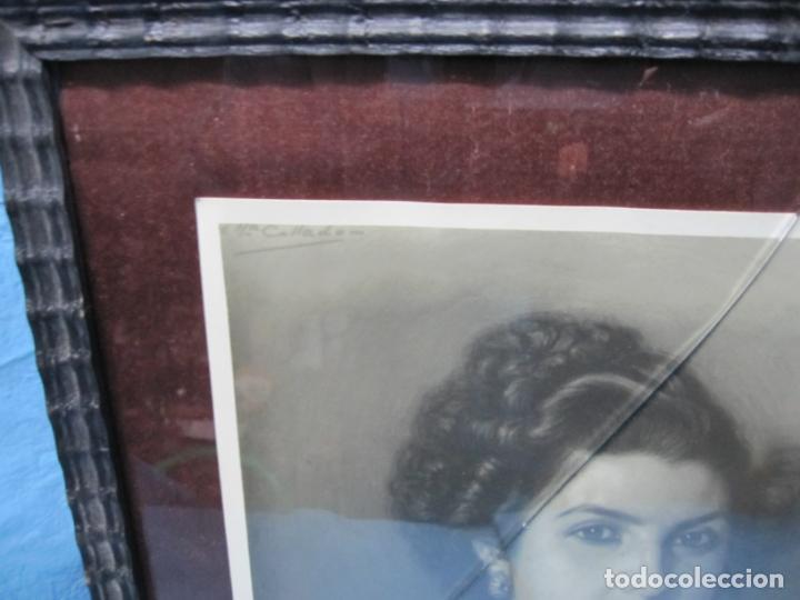 Arte: FOTO DE PINTURA A CARBONCILLO POR JOSE MARIA COLLADO PINTOR EXTREMEÑO DE BADAJOZ LA GARROVILLA - Foto 2 - 194100511