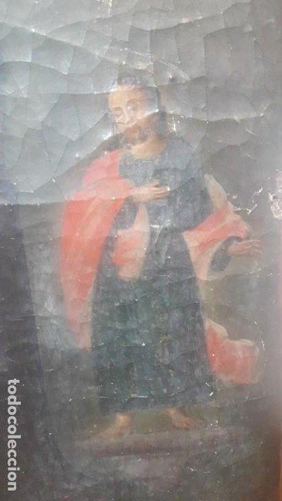 Arte: San juan y la virgen siglo XVIII - Foto 5 - 194105907