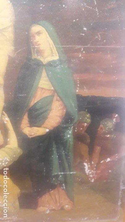 Arte: Calvario chapa siglo XIX - Foto 5 - 194106491