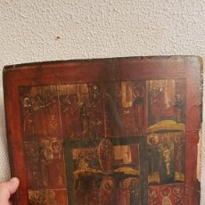 Arte: ANTIGUO ICONO RUSO. SIGLO XVIII . Lote 194115527