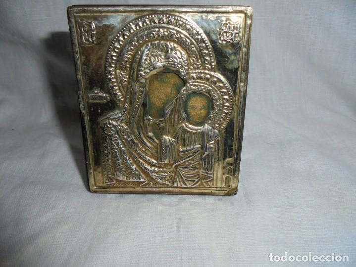 ICONO SOBREMESA DE PLATA 925 (Arte - Arte Religioso - Iconos)